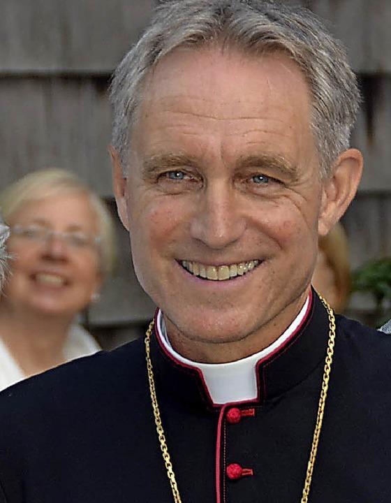 Kurienerzbischof Georg Gänswein kommt nach Todtmoos.    Foto: Donner
