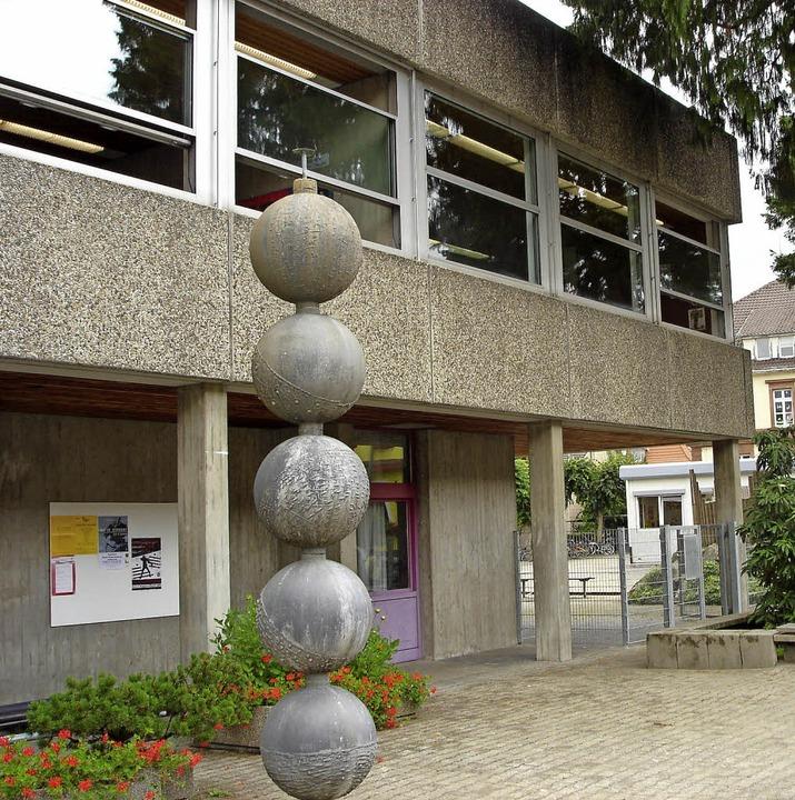 …  in der Hellbergschule in Brombach …  | Foto: Niklas Ehrentreich