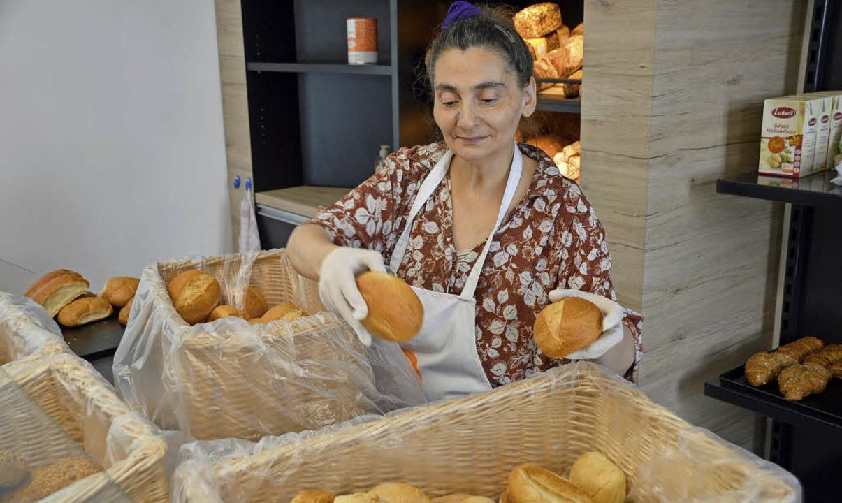 Giovanna Capuano arbeitet seit rund einem Jahr im Tafelladen.   | Foto: Horatio Gollin
