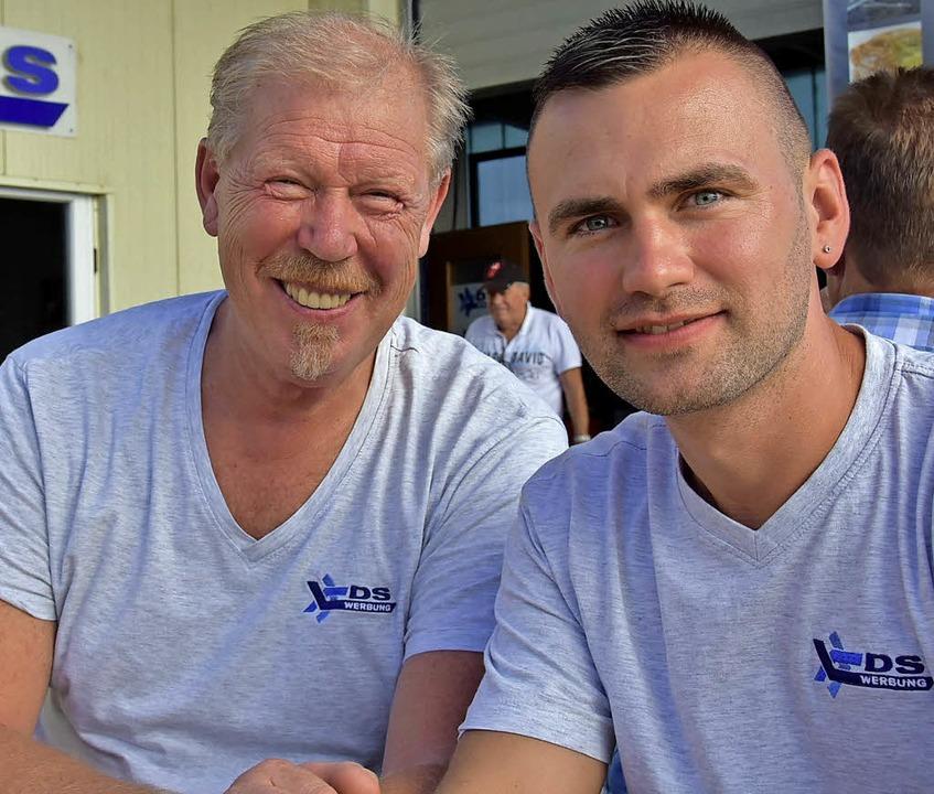 Dietmar Schäfer (links)  hat  seine Firma an Adrian Jagodzinski übergeben.  | Foto: Andrea Steinhart