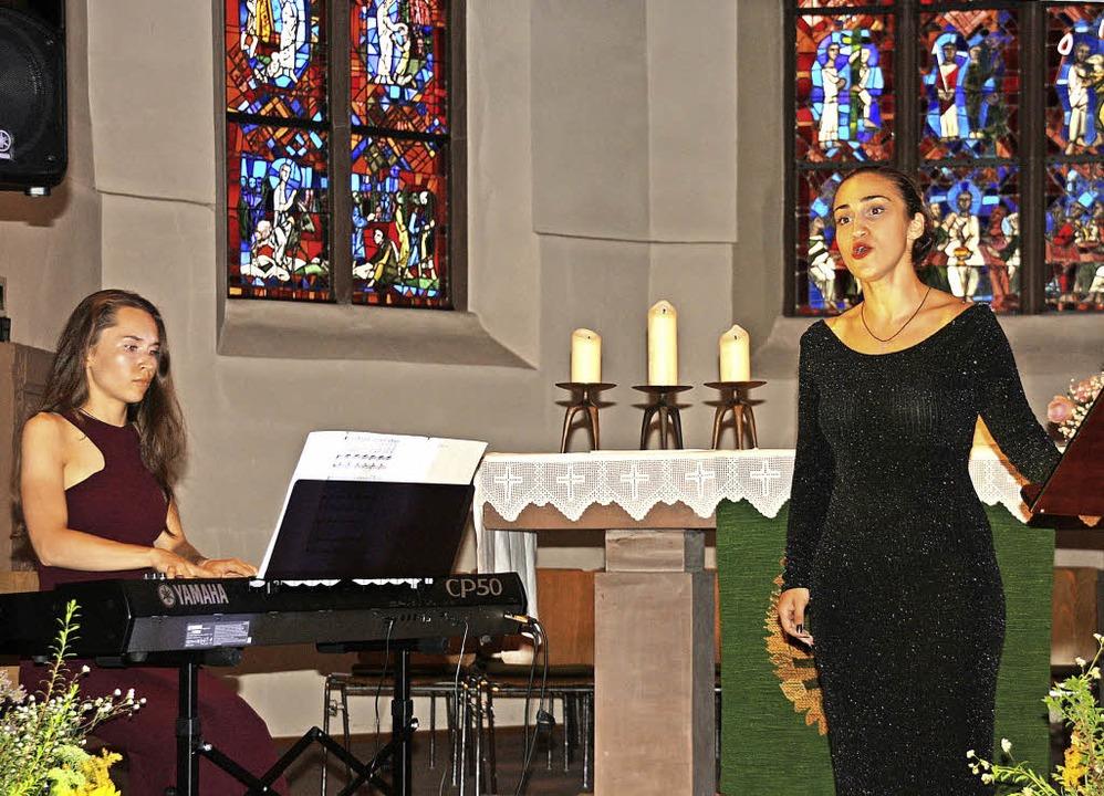 Außergewöhnliches Konzert in der Bahli... Arien quer durch die Musikgeschichte.  | Foto: Christiane Franz
