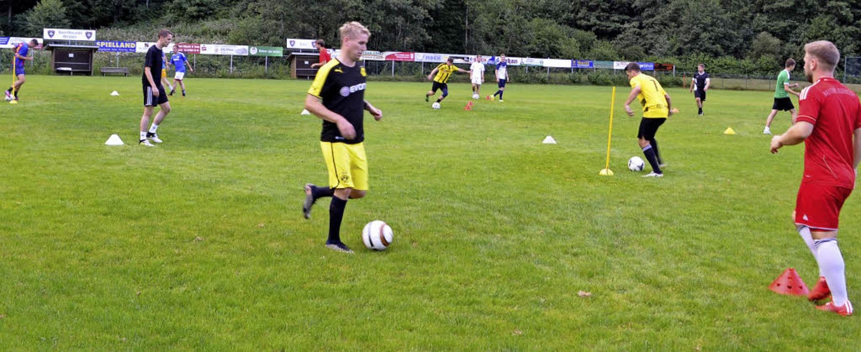 Training bei den Sportfreunden Winden, eine Woche vor Saisonbeginn   | Foto: N. Bayer