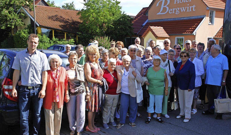 Mitglieder des VdK Kollnau beim Ausflug ins Altmühltal   | Foto: VdK
