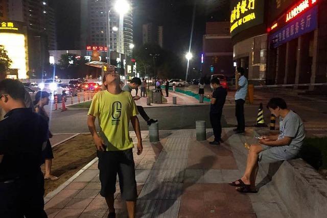 Erdbeben in China, Behörden befürchten bis zu 100 Tote