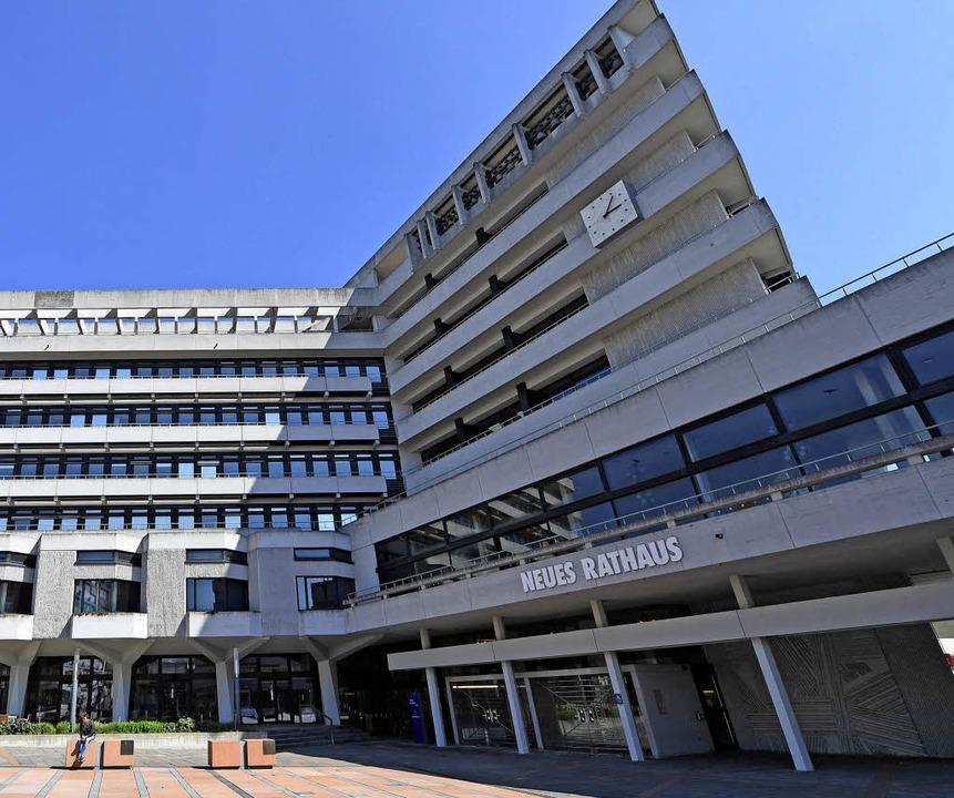 Pforzheims Rathaus     Foto: dpa