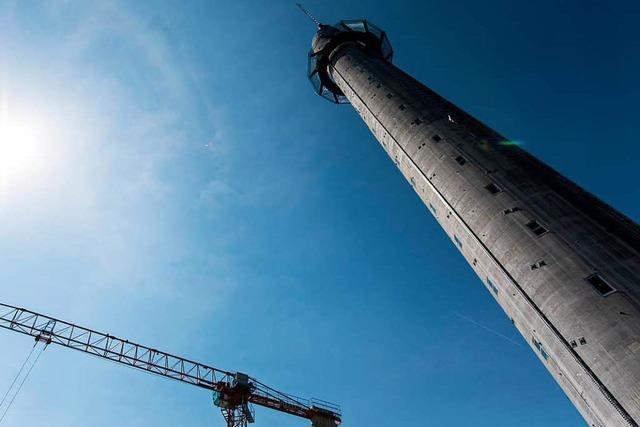 Die Hülle des Rottweiler Aufzugturms macht Probleme