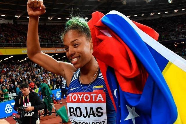 Yulimar Rojas aus Venezuela gewinnt WM-Gold