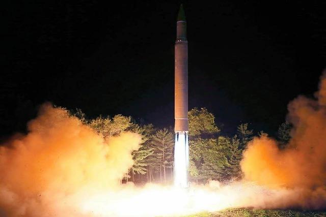 Atomkonflikt: Nordkorea und USA drohen beide mit Krieg
