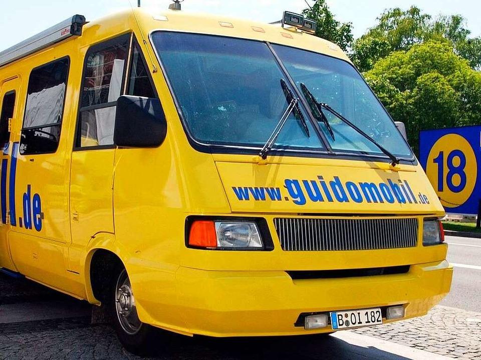 Das Guidomobil  | Foto: dpa