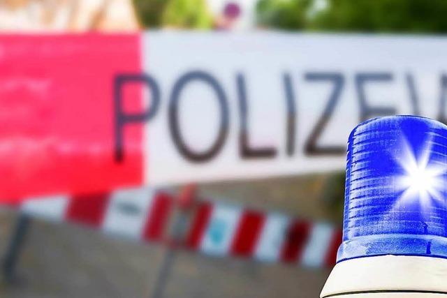 Motorradfahrer in Lörrach verunfallt und verletzt sich