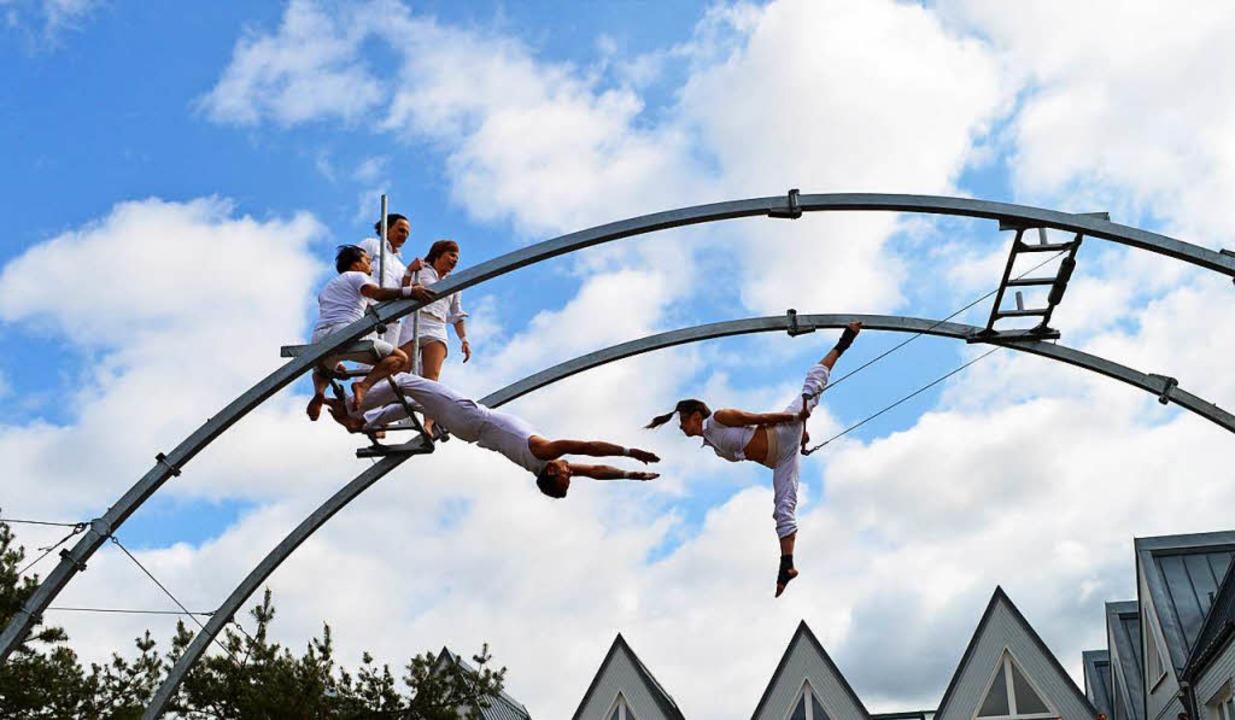 Luftige Höhe: Die Brückensensationen gehen in die nächste Runde.  | Foto: Veranstalter