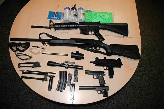 Gefährliches Spiel mit Softairwaffen endet glimpflich