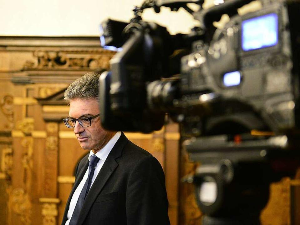 Oberbürgermeister Dieter Salomon war n...urde er zur Zielscheibe von Hassmails.  | Foto: Ingo Schneider