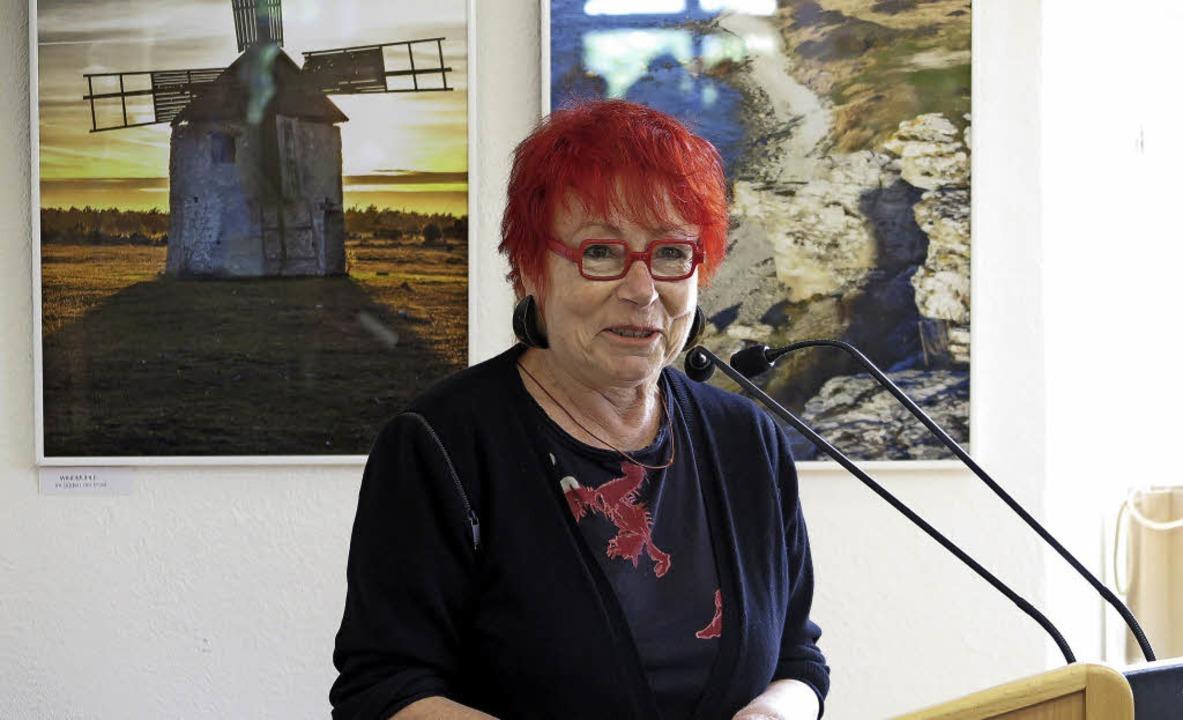 Das Wesen der Insel: große Weite, kaum Bewohner, sagt Anita Walter.   | Foto: Dorothee Philipp