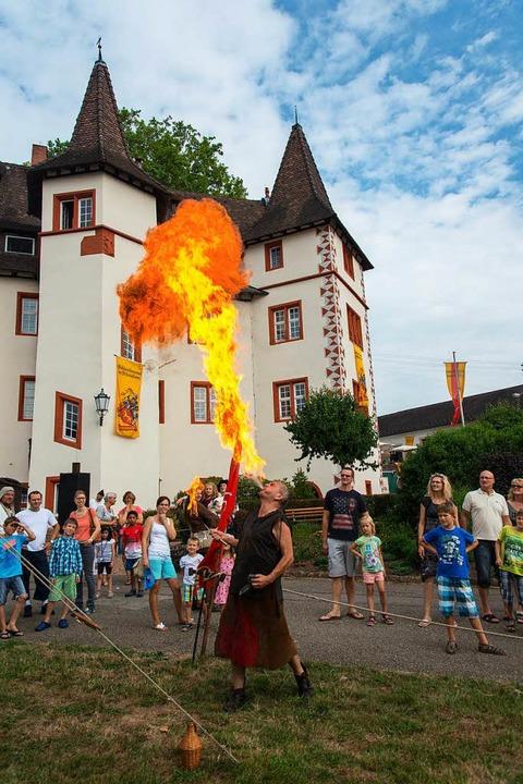 Einen Feuerschlucker wird's wieder geben.  | Foto: Olaf Michel