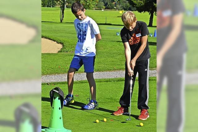 Golf macht auch Jüngeren Spaß