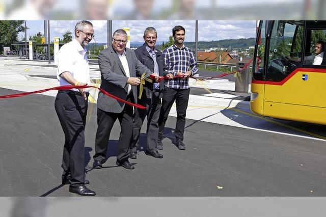 Mehr Komfort am neuen Bahnhof in Stein