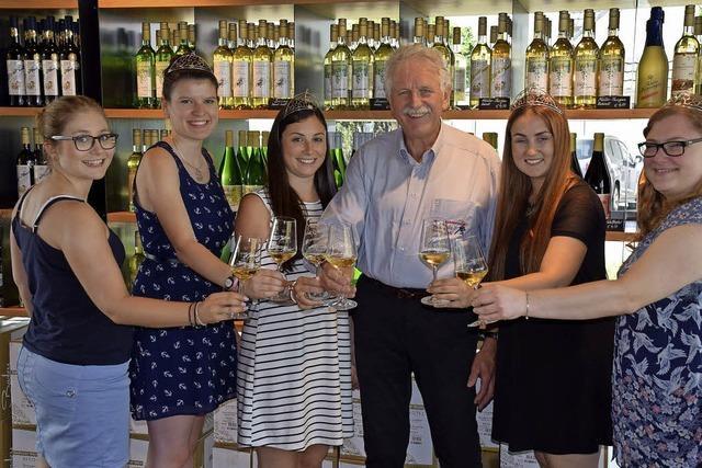 Badens Weinprinzessinnen kosteten Buchholzer Wein