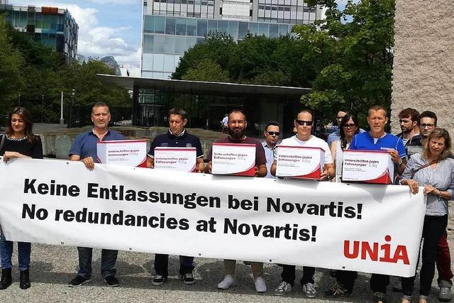 Belegschaft kritisiert Novartis wegen geplanten Stellenabbaus