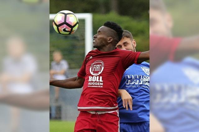 SV Weil scheitert in Runde zwei am FC Auggen