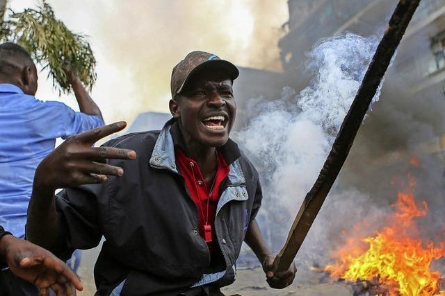 Opposition in Kenia spricht von Wahlbetrug