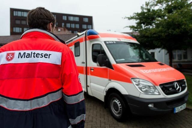 Diebe stehlen alle Medikamente aus Malteser-Rettungswagen