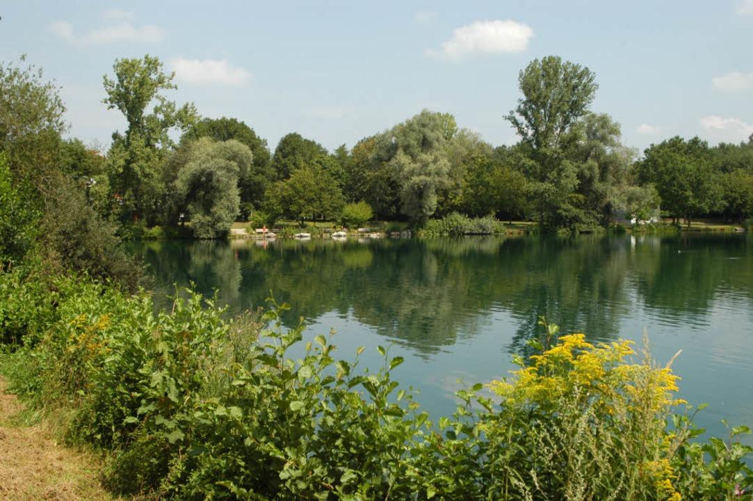 Im Moosweiher in Landwasser ist am Don...ote Frau gefunden worden. (Archivbild)  | Foto: Thomas Kunz