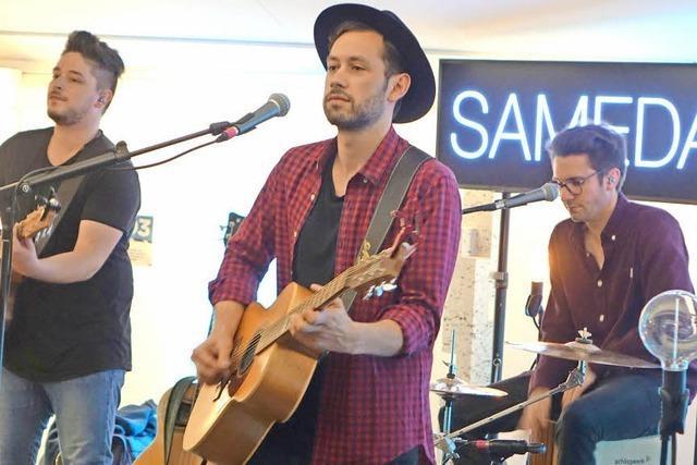 Klasse Auftritt von Sameday Records