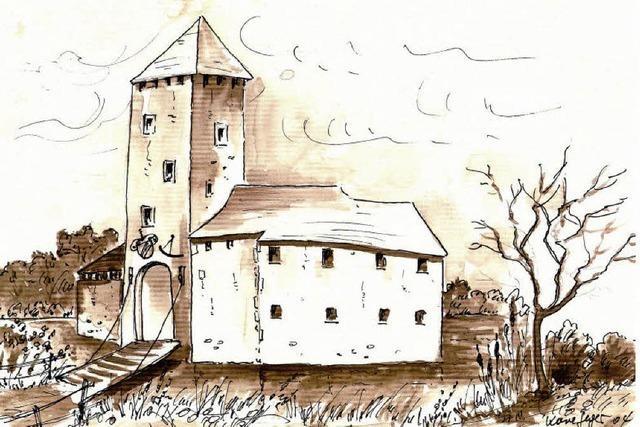 Binzen hatte einst sogar ein Wasserschloss