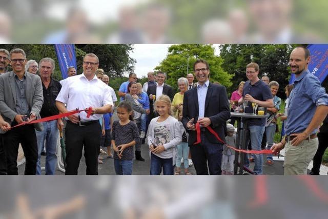 Neubaugebiet Himmelreich eingeweiht