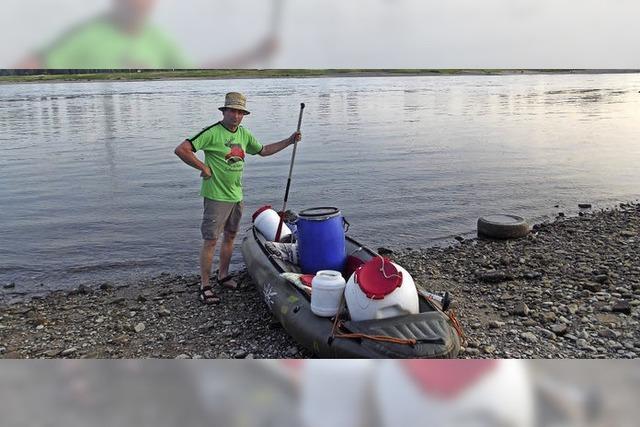 Ein Mann und sein Boot