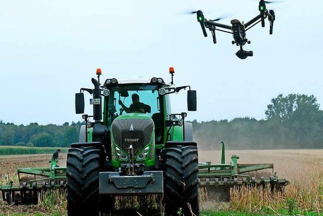 Feld-Drohnen und Melkroboter: Die Landwirtschaft wird digital