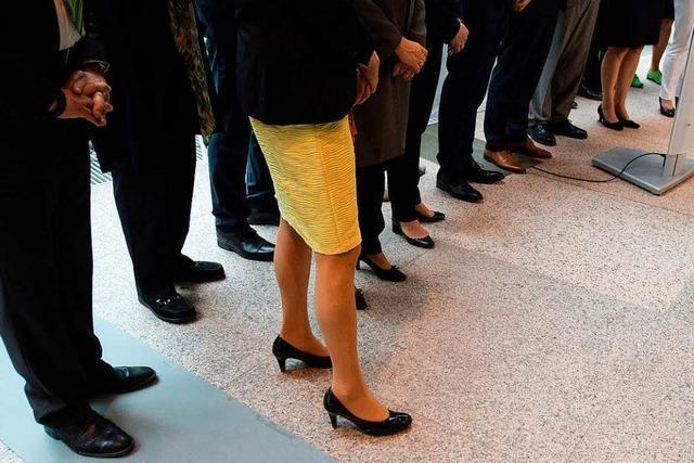 Im männlich dominierten Landtag wächst bei den Frauen der Unmut