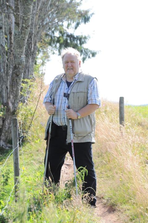 Hat das Bollwerk entdeckt: Historiker Werner Störk  | Foto: Nicolai Kapitz