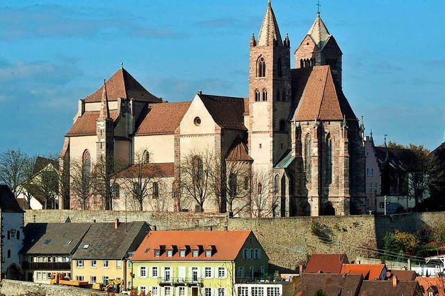 Glockenstuhl im Nordturm des Breisacher Münsters wird saniert