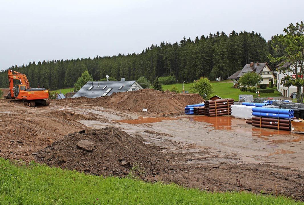 Gegenwärtig wird der Platz auf dem Höc... Wohnen weiter entwickelt, ist offen.     Foto: Gert Brichta
