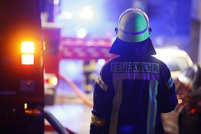 Viel Rauch bei Brand im schweizerischen Pratteln