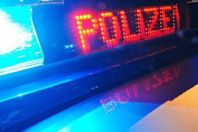 Polizeieinsatz in Steinenstadt