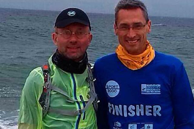 Zwei Ettenheimer sind in 19 Tagen 1321 Kilometer durch Deutschland gelaufen