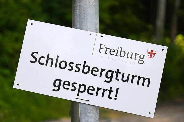 Der Schlossbergturm soll ab September wieder zugänglich sein