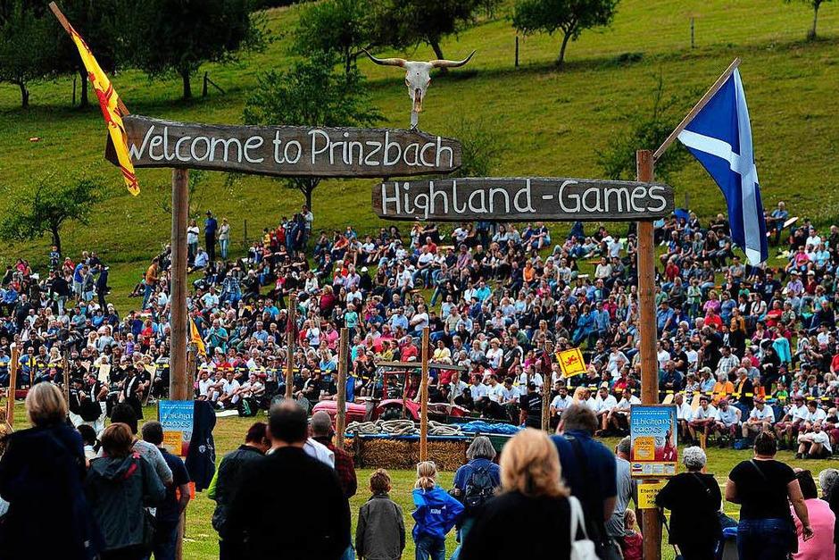 Highland-Games in Prinzbach (Foto: Bettina Schaller)