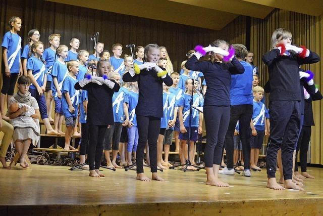 Kinder-Musical begeistert Publikum