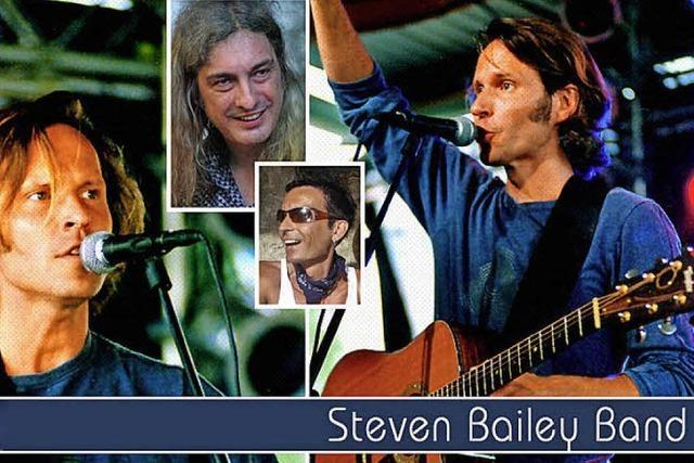 Steven Bailey Band im Mehlsack