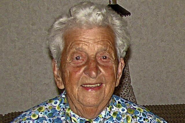 Ursula Ortlieb feierte ihren 95.