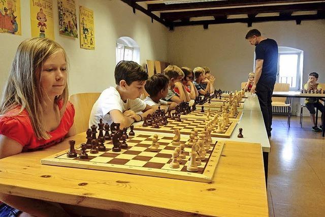 Schachfreunde sorgen sich nicht um Nachwuchs