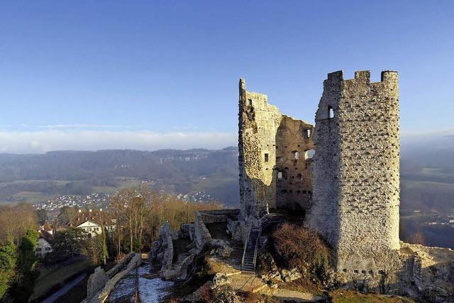 Der Kanton Baselland hat die Burgruine Pfeffingen restauriert
