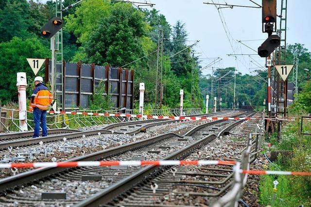 Wie der Tunnelbau bei Rastatt die Rheintalbahn blockiert