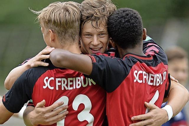 A-Junioren des SC Freiburg trotzen Bayern München einen Punkt