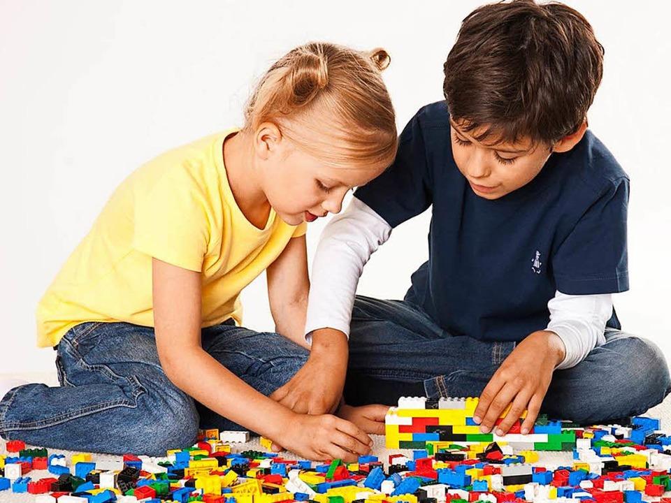 Beim guten, alten Legospiel erobern Kinder den dreidimensionalen Raum für sich.  | Foto: Lego Gmbh