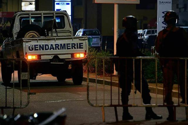 Mindestens 17 Tote bei Angriff auf Restaurant in Ouagadougou
